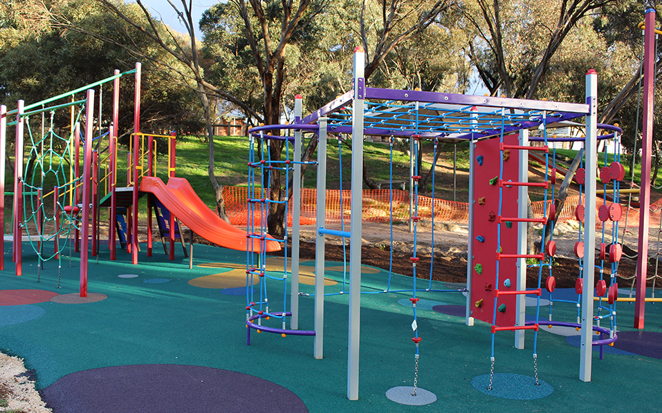 Golden Grove Primary School - Play equipment and rubber soft-fall installation